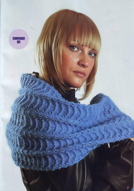 Вязаные шали  Вязание спицами вязание крючком схемы и